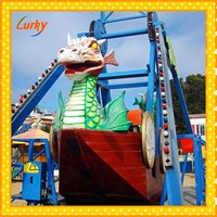 Luxury Pirate Ship Theme Park Rides
