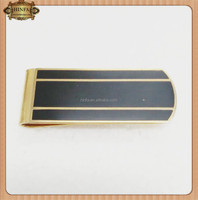 High Quality Promotion Silver Metal Money Clips with Customized Logo