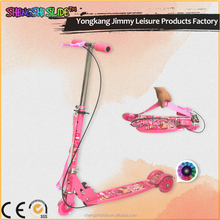 Children Metal 3 Wheel Folding Kick Scooter