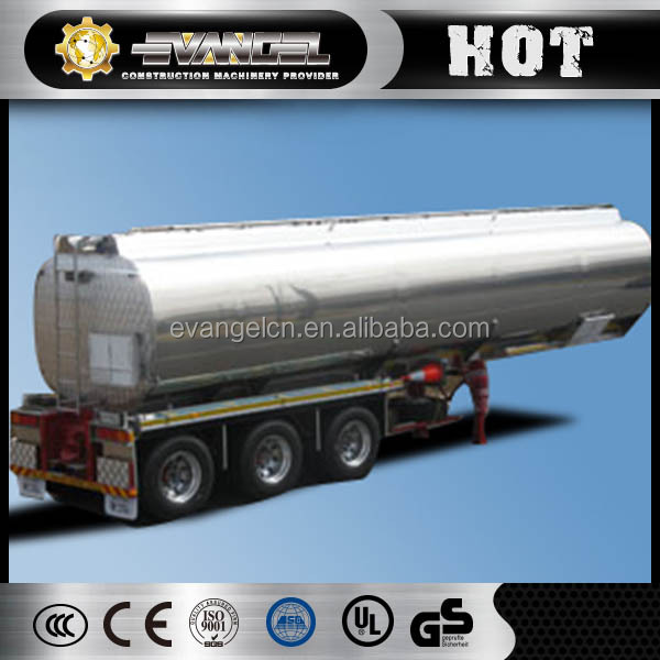 Top Quality Three Axles 50000L fuel tank trailer sale oil tank semi trailer price