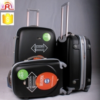 ABS universal spinner wheels colorful eminent polo trolley luggage