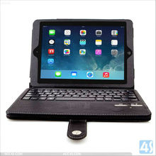 Bluetooth Keyboard Tablet Stand Leather for Apple iPad 5 iPad Air Case P-IPD5CASE011