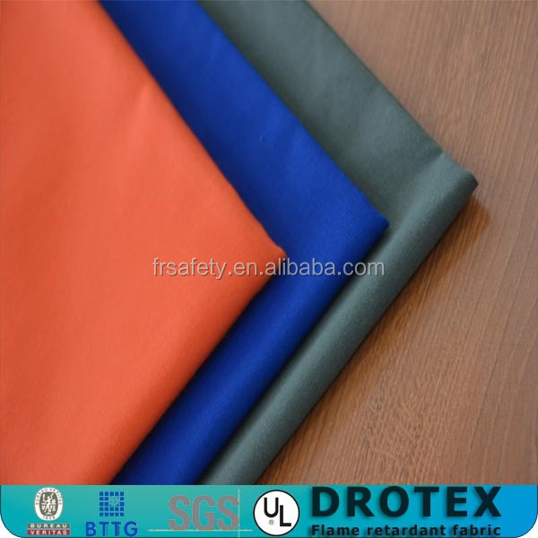 Trade Assurance EN471 Hi Visibility Fabric Fluorescent Cotton Fabric for Workwear Fire Resistant Fabric for Garment