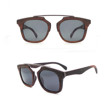 W57 Wholesale Custom Brand Your Own Designer Trendy Glasses Wooden Bamboo Polarized Vintage Man Sunglasses Eyewear Gafas