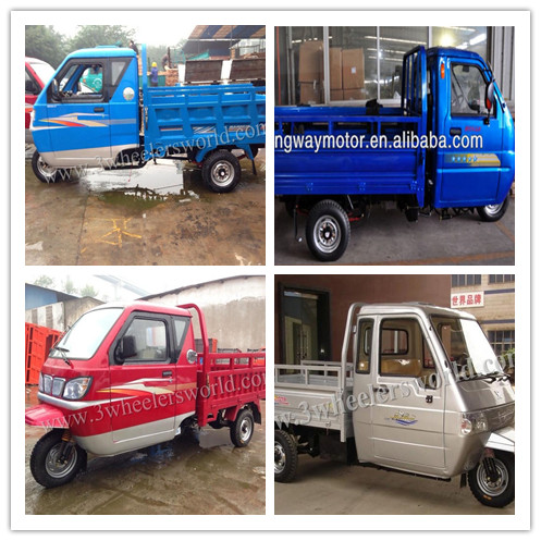 2014 China import used car/diesel 3 wheeler drift trike /tuk tuk for sale