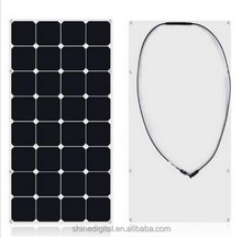 CIGS Amorphous silicon thin film flexible solar panel 100w