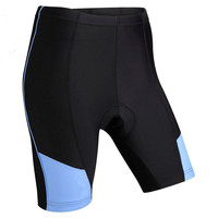 Ladies Padded Cycling Shorts women's anti-bacterial bike short