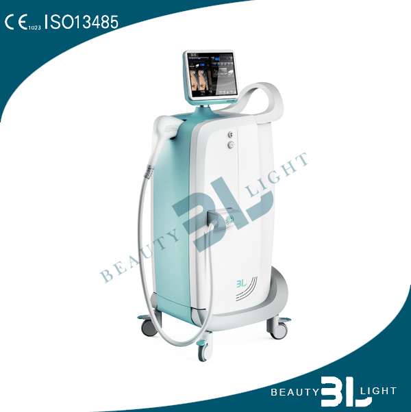 high energy skin tightening cooling no pain laser hair removal machine for beauty parlor