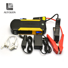 Autolion 4 in 1 portable power bank battery booster jump starter pack help you how to jump start a car