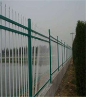 China Supplier Heavy Duty Zinc Steel Fence Price