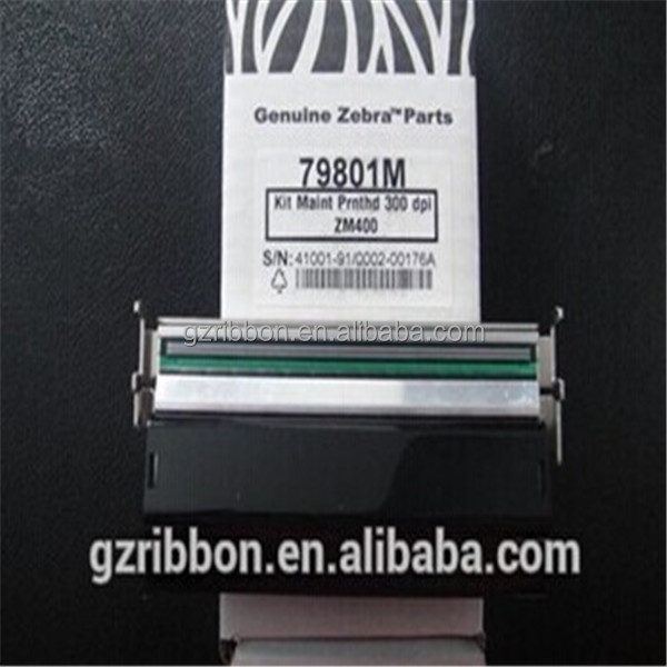 Zebra ZM400(300dpi)-79801M thermal barcode lable sticker printer head supply in China