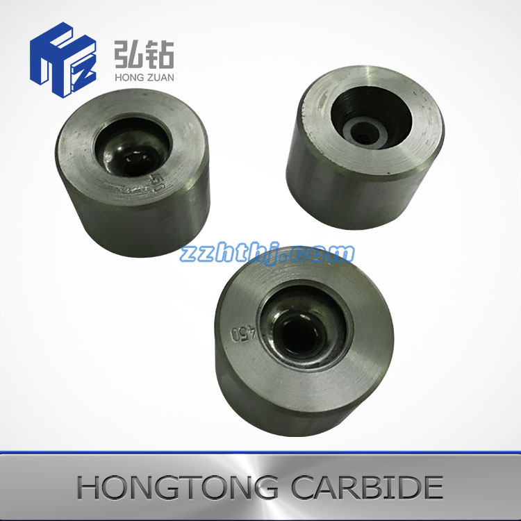 Finished Tungsten carbide wire drawing dies with alternating diameter
