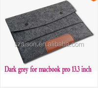 "Woolen Felt 11 "" 13 "" 15 "" Laptop Sleeve Bag for Macbook Air / Pro Laptop Sleeve Case"