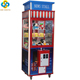 Coin operated malaysia ice crane claw toy game machine for sale