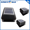 12 watt Square With battery solar attic fan and high temperature exhaust fan