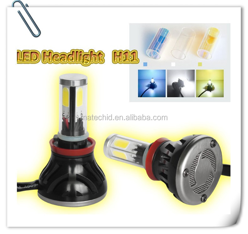 Led Car Headlight H1 H3 H7 H11 H4 880 881 9006 9005 Cob Led Headlight, high power led headlight bulb h7
