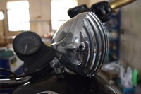 New design motorcycle headlights for ninja 250 with low price