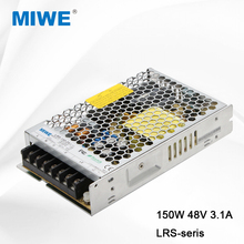 MIWE factory single output switching power supply 150W 48V 3.1A LRS-150-48