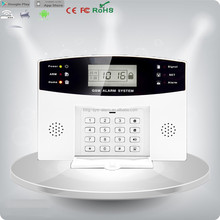 Security Guard Equipment Wireless Home Burglar gsm Alarm System Pack with CE, RoHS certification