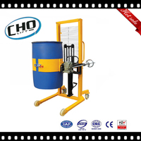 Manual Hydraulic Drum Stacker 400kg Load Capacity