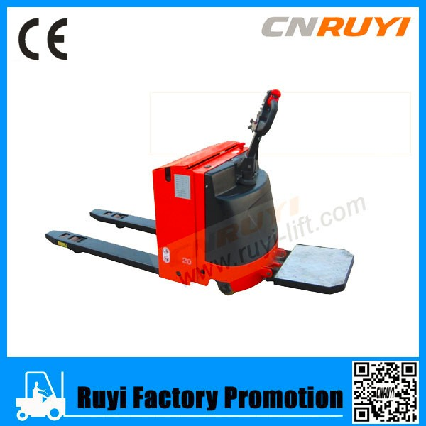 Walkie kind electric battery charger pallet truck