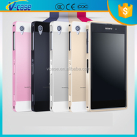 new arrival aluminum metal bumper case for Sony Xperia T3