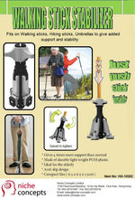 Mobility support Device Walking stick stabilizer