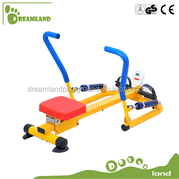 Kids gym fitness equipment rowing machine for kids