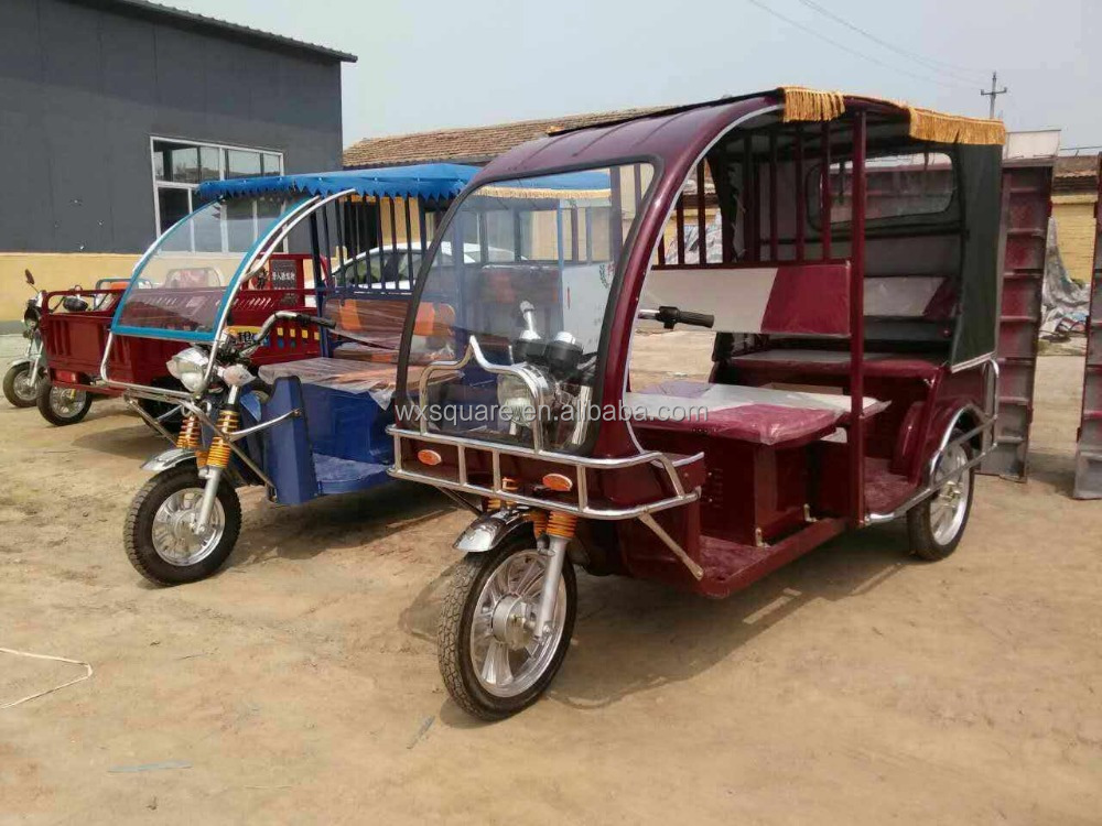 Electric rickshaw/trike/tuk tuk/pedicab electric tricycle electric three wheeler