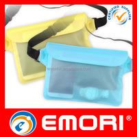 wholesale multi purpose durable Water Pouch With adjustable Waist Strap