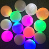 Super Bright Night Flyer Glowing LED Golf Ball Glow In Dark for Golf Practice