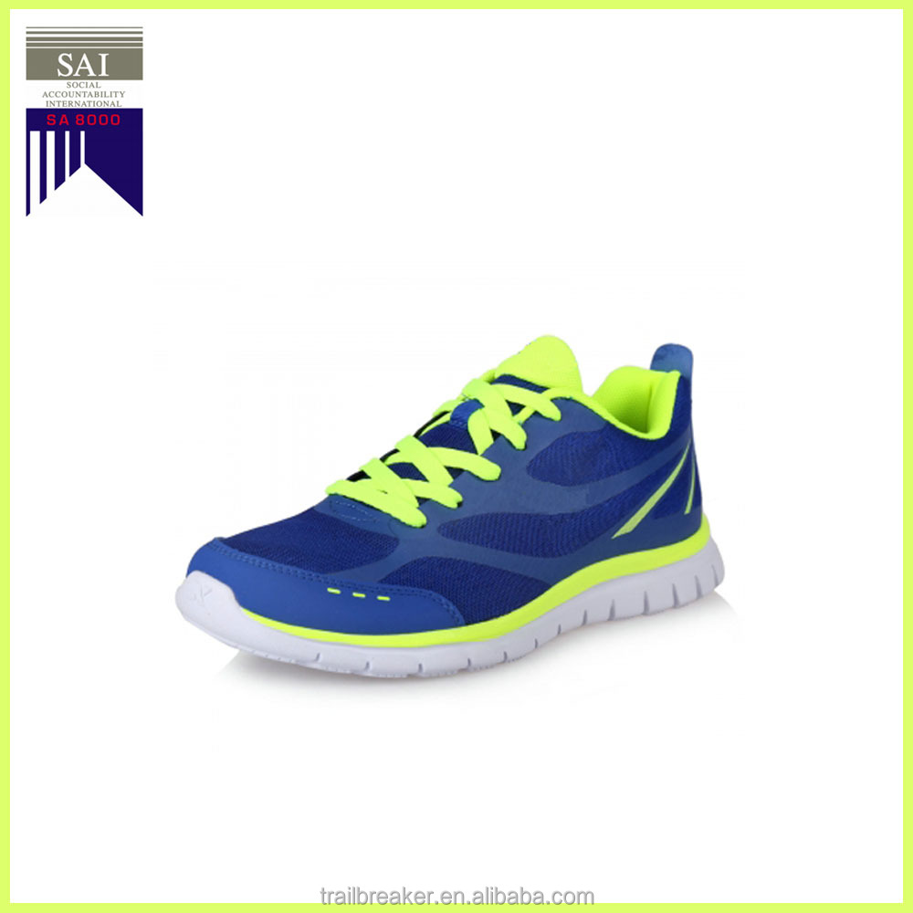 High Suppleness Mesh Upper Rubber Outsole Slow Shock Running Sport Shoes