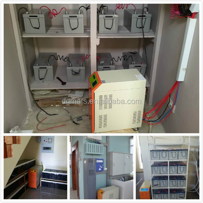 Factory price 5KW 10KW full power solar panel / inverter / controller / battery complete set off grid home solar system