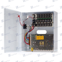 DC12V 10A Waterproof wall hanging waterproof Power Supply Box for CCTV