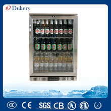 Stainless steel undercounter back bar cooler LG-138B