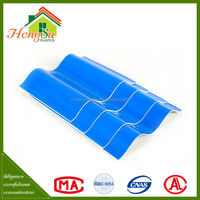 Good performance 100% waterproof 2 layer double wall plastic roof sheets