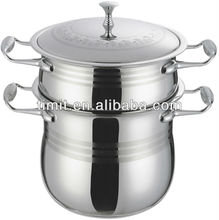 stainless steel couscous pot (stock item)