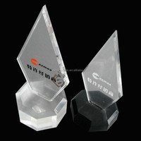 Shenzhen factory shield award trophy new design acrylic awards and trophies