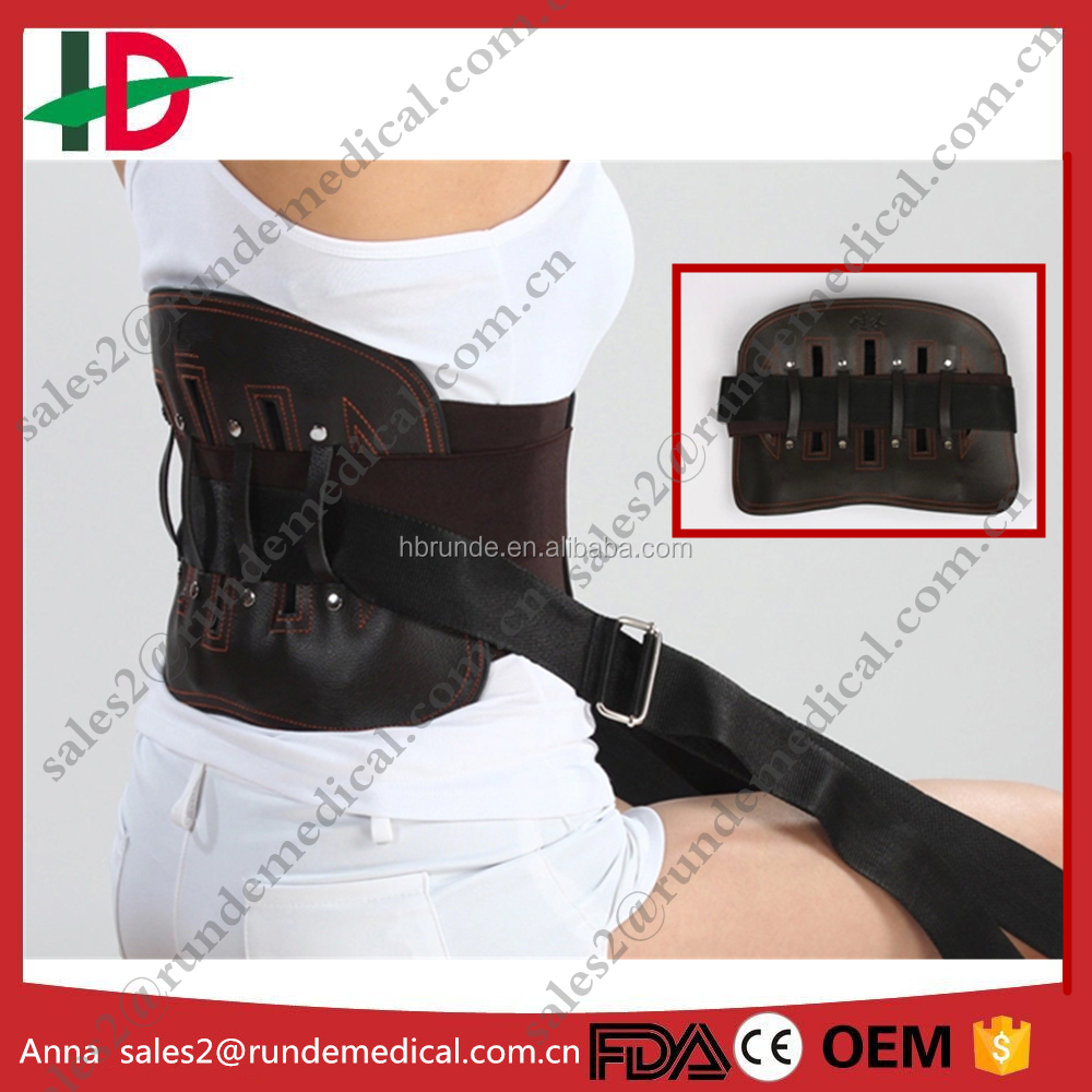tourmaline heated lumbar back support brace with CE/FDA