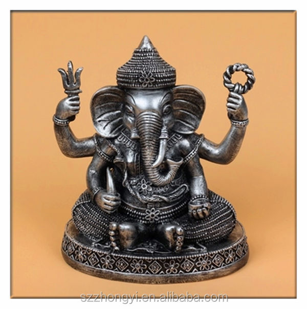 2014 China Supplier hot new products sacred resin lord ganesh, wholesale lord ganesh