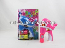 New dolphin soap bubble toy wholesale/animal bubble gun