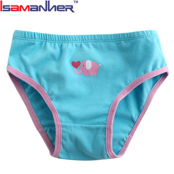 Lovely cartoon pattern baby girls underwear briefs kids panties