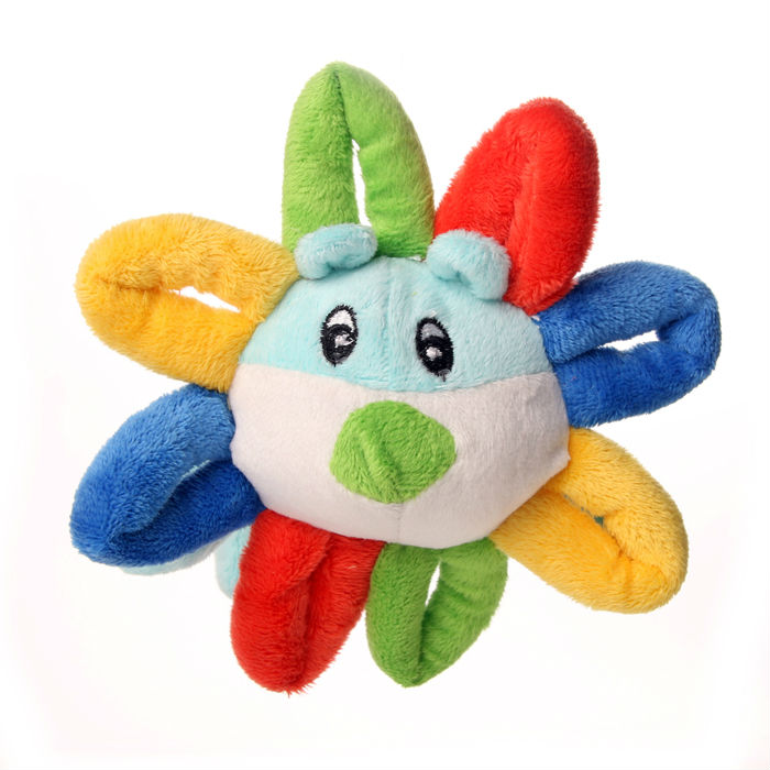 New pet products cute plush sunny flower toy dog toys wholesale china