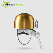 2015 ROCKBROS Classical Stainless Bell Cycling Horns Bike Handlebar Bell Horn Crisp Sound Bike Horn Safety Bicycle Accessories