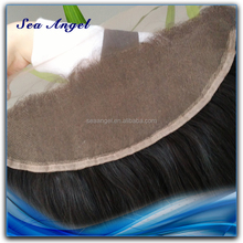 Factory Directly Sale Mongolian Straight Virgin Hair Lace Closure 13*4 Ear to Ear With baby hair frontal