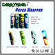 new 18650 Battery label colorful pvc heat shrink battery tube 20700 battery wrap custom Battery skin Vape Wraps Battery Sticker