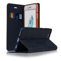 C&T Premium Soft TPU Synthetic Leather Flip Stand Cover Wallet Case for Apple iPhone 6 4.7 Inch