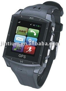 Quadband Water resistant watch phone with GPS Tracker --- G9