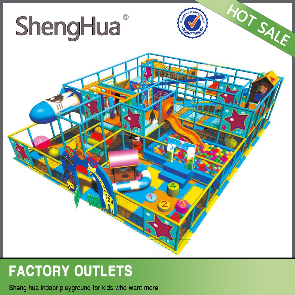 Popular soft children games indoor playground equipment