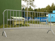 Galvanized Temporary pool Fence/crowd control retractable barrier Factory with low price